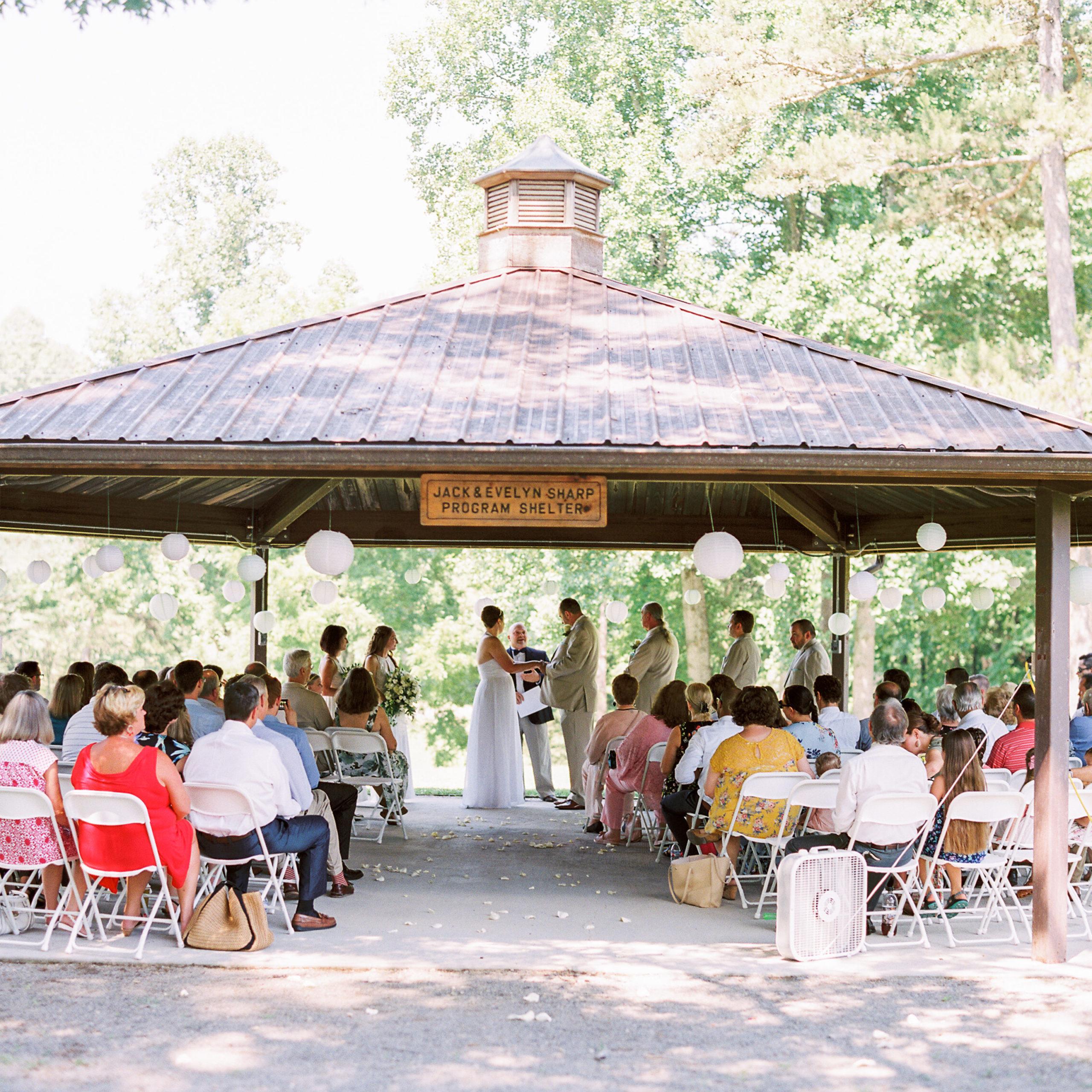 Wedding at the Program Shelter