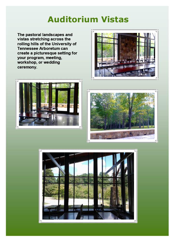 UT Arboretum Auditorium Vista Album