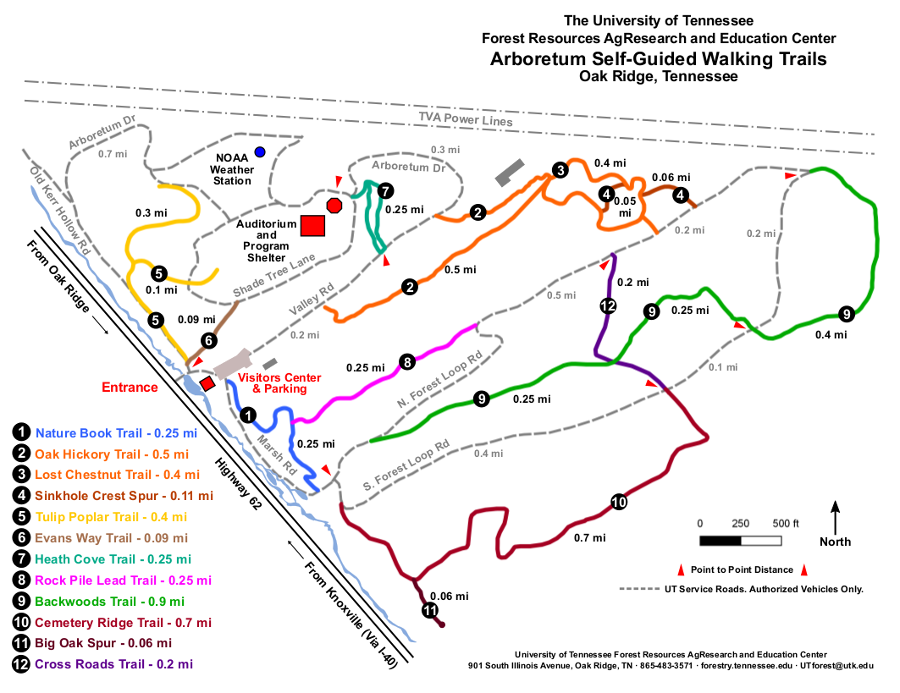 Trail System Map