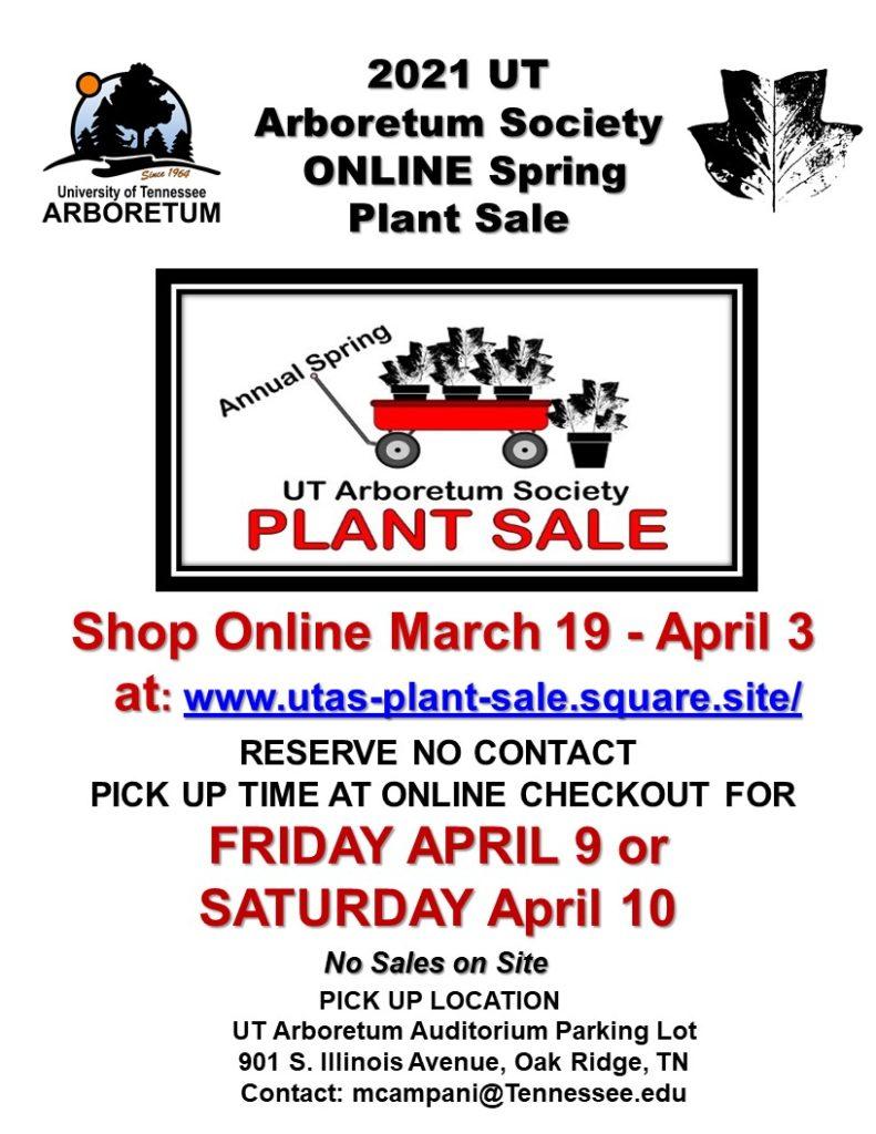 flyer spring plant sale 2021